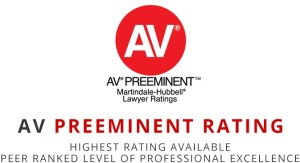 AV Preeminent Rating Logo